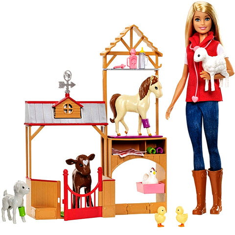 Sweet Orchard Farm Doll With Playset