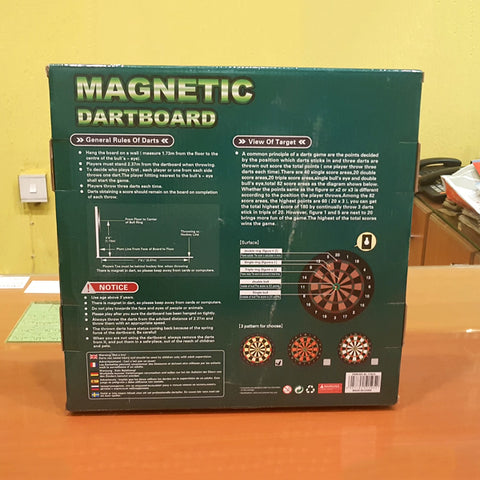 Image of Magnetic Dart Board Game