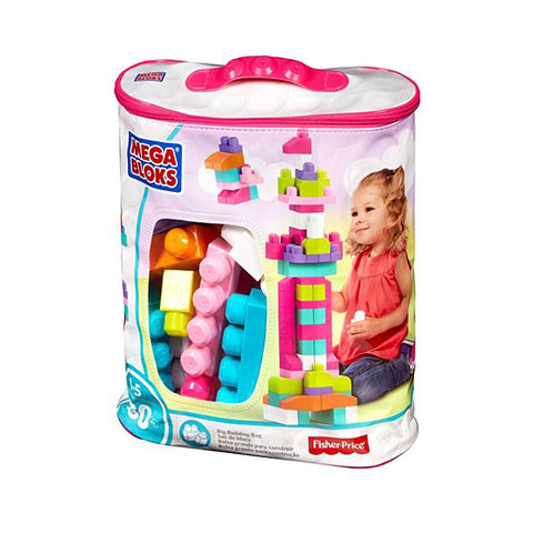 First Builders Big Building Bag (Pink)-DCH62