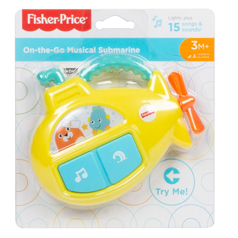 Fisher-Price On-the-Go Musical Submarine-FXC02