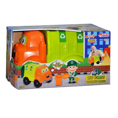 DEDE My First Garbage Truck