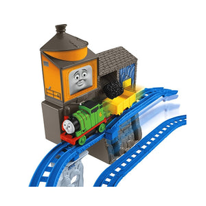 Thomas & Friends Motorized Railway Percy's Load & Lift Set