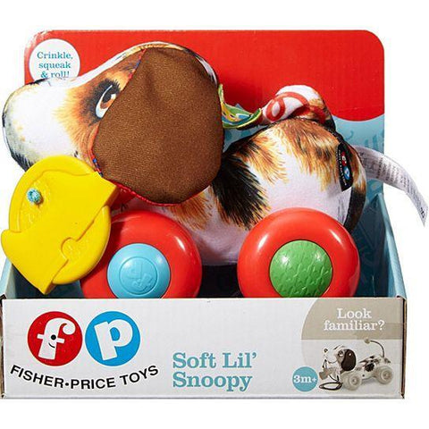 Fisher-Price Soft Lil' Snoopy--W4472