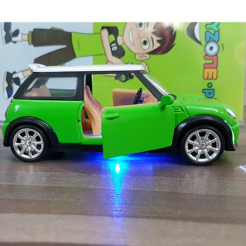 Diecast Metal Body Mini Cooper
