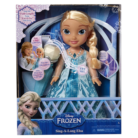 Sing-A-Long Elsa Frozen Doll