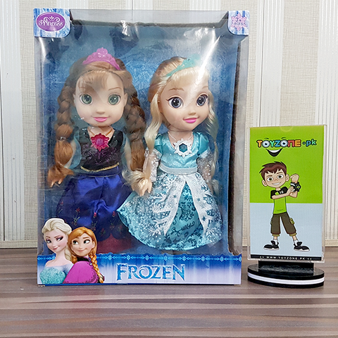 Image of Disney Frozen Singing Sisters Elsa and Anna Dolls-8688A