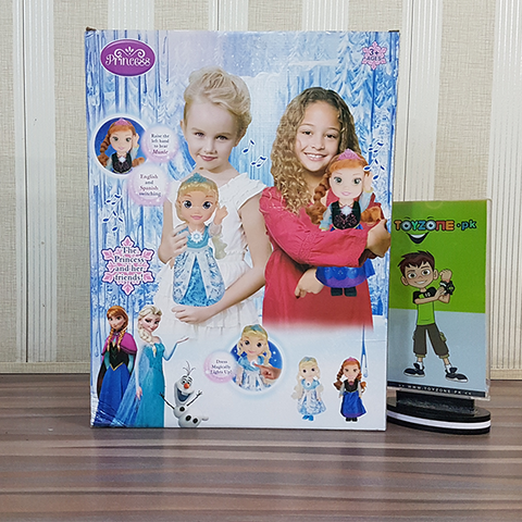 Image of Disney Frozen Singing Sisters Elsa and Anna Dolls