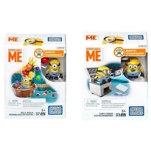 Image of Mega Bloks Despicable Me Copy Chaos 33 Pieces--DMV20