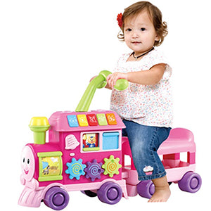 WinFun Baby Walker Ride on Learning Train