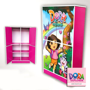 Dora The Explorer | 4 Door Wardrobe Toyzone