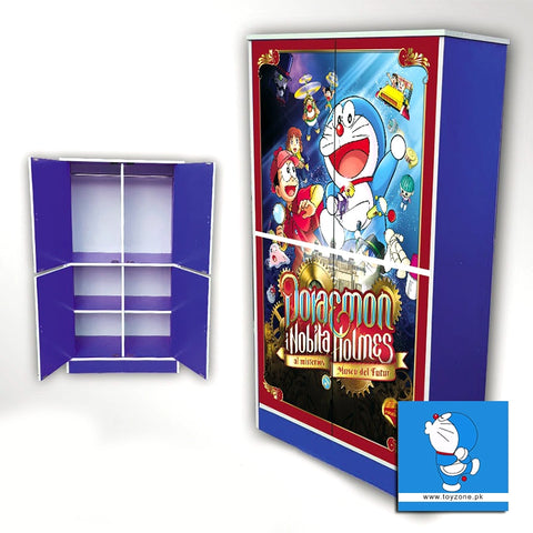 Image of Doraemon | 4 Door Wardrobe Toyzone