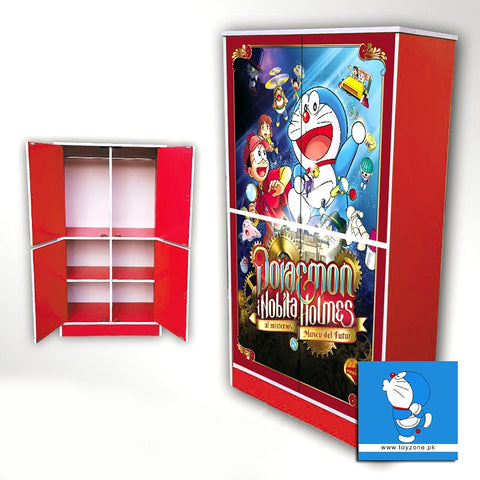 Image of Doraemon | 4 Door Wardrobe