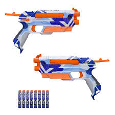 Image of Nerf Spilt Strick Gun