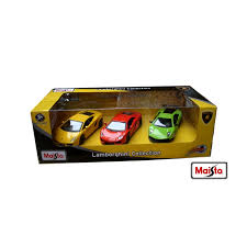 Image of Maisto Diecast Fresh Metal Power Racer 3 pack Lamborghini