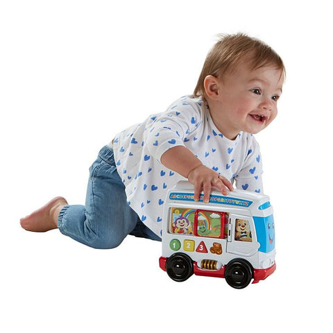 Fisher Price Laugh & Learn® Learn Around Town Bus--DYM77