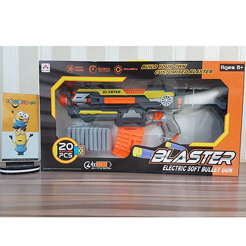 Electric Blaster Soft Bullet Nerf Gun