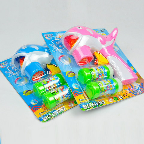 Image of Electric Dolphin Bubble Gun