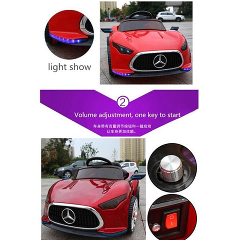 Electric Mercedes Benz Battery Operated Car
