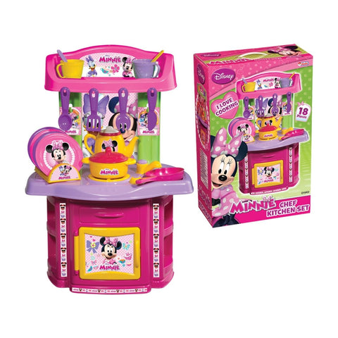 DEDE Minnie Mouse Chef Kitchen Set