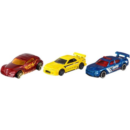 Hot Wheels 3 Die-Cast Car Gift Pack