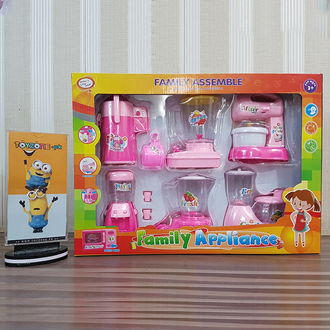 Family Household Appliances 6 pcs