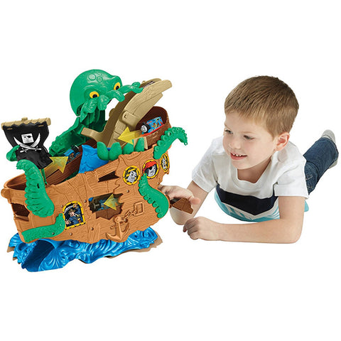 Image of Thomas & Friends Adventures Sea Monster Pirate Set