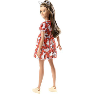 Barbie Fashionistas Doll - Petite with Brunette Waves