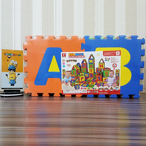 Image of Educational Soft Puzzle Alphabets Mat