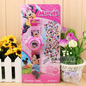 Minnie Mouse Projector Watch-Mini Mouse