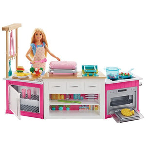 Barbie Ultimate Kitchen--FRH73