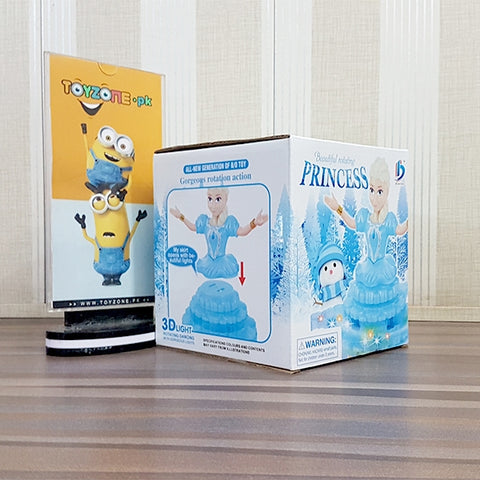 Frozen 3D Doll Light & Sound
