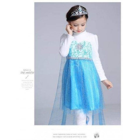 Frozen Elsa Costume - Blue