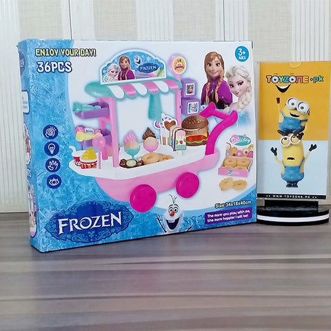Frozen Sweet Shopping Cart (36 Pieces)