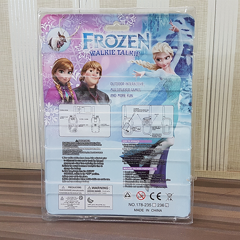 Frozen Walkie-Talkie With (2 pcs) - STO