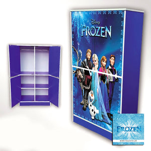Disney Frozen | 4 Door Wardrobe