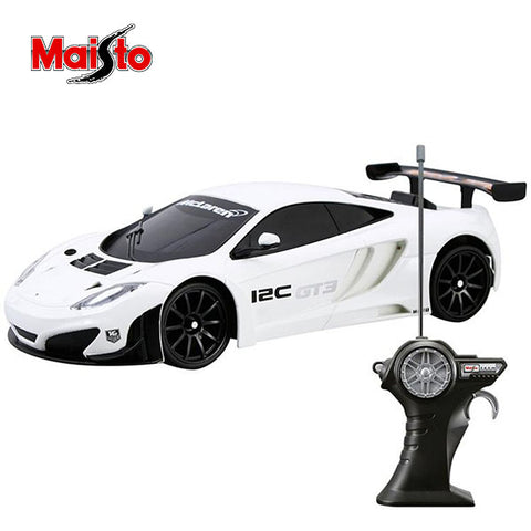Image of Maisto Race Maclaren MP4-12C Rc Car 1:24 Scale
