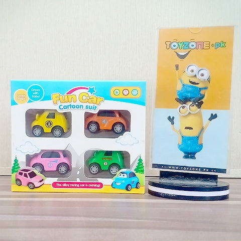Mini Cartoon Pull Back Cars