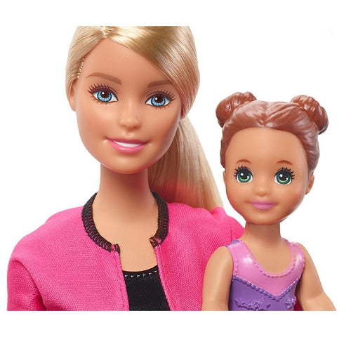 Barbie Gymnastics Coach Dolls & Playset