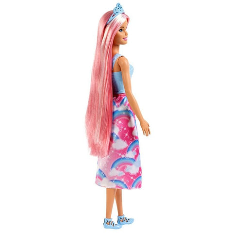 Image of Barbie Dreamtopia Pink Hair Doll