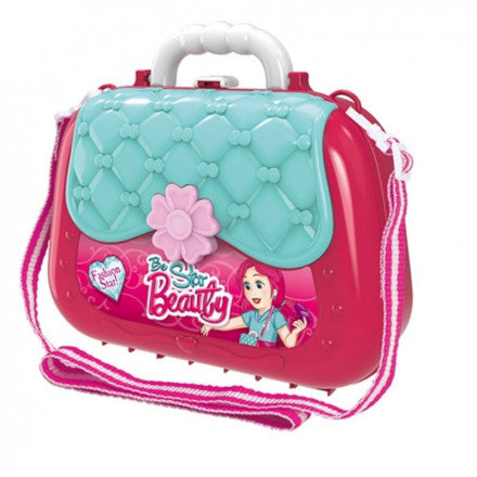 Pretend Play Fashion Briefcase With Shoulder Bag