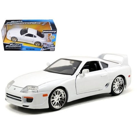 Fast and Furious - Metal Die-Cast Brian's Toyota Supra White