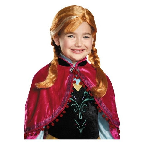Image of Disney Frozen Anna Wig