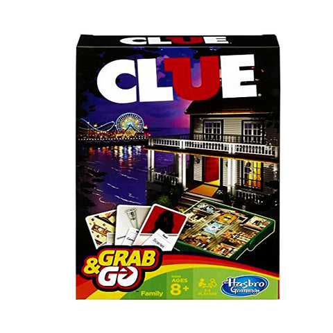 HASBRO CLUE GRAB AND GO