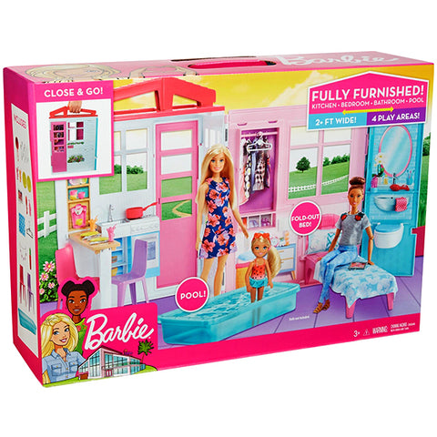 Barbie Doll With House
