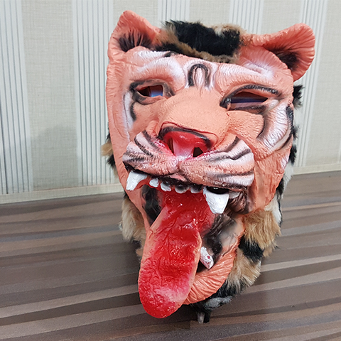 Image of Halloween Tiger Mask