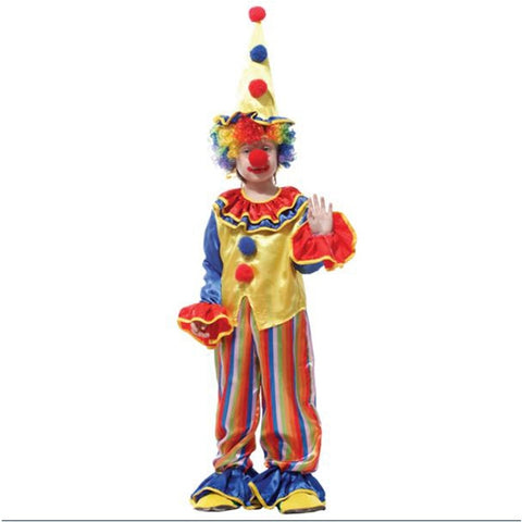 Image of Halloween Circus Clown Costume