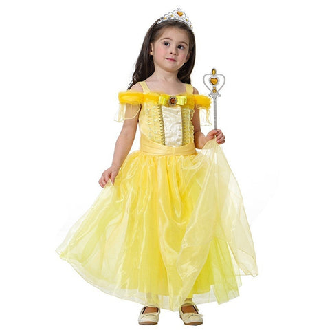 Halloween Disney Belle Princess Fancy Costume