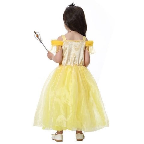 Image of Halloween Disney Belle Princess Fancy Costume