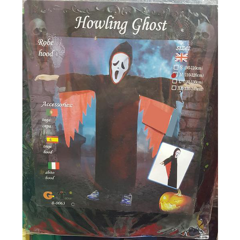 Halloween Howling Ghost Costume