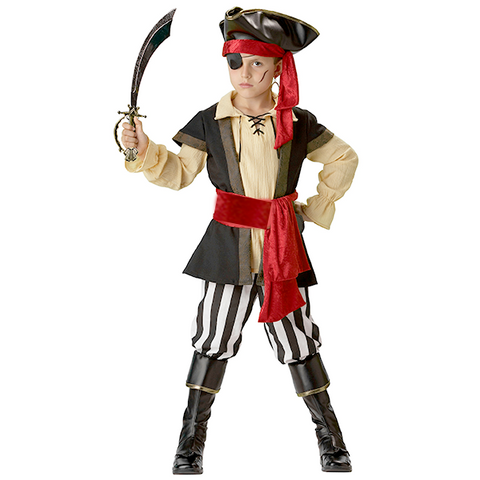 Image of Halloween Kids Scoundrel Pirate Costume